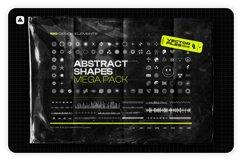 Abstract shapes MEGA PACK Product Image 1