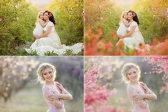 40 Painted Flowers Photo Overlays Product Image 3