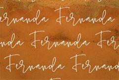 Web Font Saniya - A Handwritten Signature Font Product Image 6