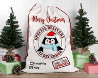 Santa Sack Bundle of 12 Designs | Christmas Gift Bag Print Product Image 6