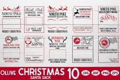Santa Sack SVG Bundle Vol. 2 | Christmas Santa Bag SVG Product Image 2
