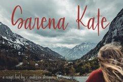 Sarena Kate | A Hand Written Script Font Product Image 4