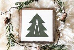 Peace Trees - Decorative Christmas Font Product Image 2