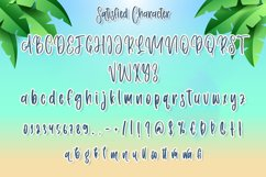 Satisfied - Summery Handwritten Font Product Image 6