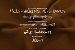 Web Font Satriya - A Handwritten Font Product Image 6