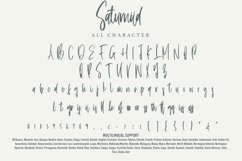 Saturniid - Beautiful Handwritten Product Image 3