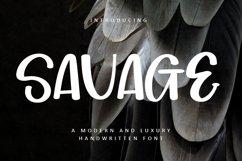 Savage - Luxury Handwritten Font Product Image 1
