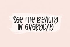 Spring Beauty - A Quirky Handwritten Font Product Image 6