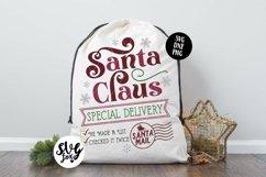 Christmas Santa Sack Bundle - 8 Designs SVG DXF PNG Product Image 3