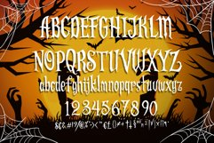 Scaryous halloween font Product Image 6