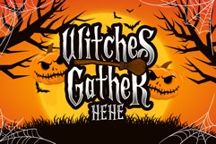 Scaryous halloween font Product Image 2