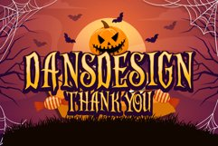 Scaryous halloween font Product Image 3