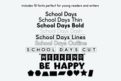 School Font Bundle - Easy to Read and Trace Fonts Product Image 2