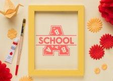 Back to School Monogram Font Product Image 6