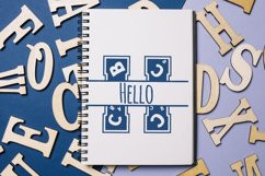 Back to School Monogram Font Product Image 5
