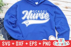 School Nurse SVG   Nurse Shirt Product Image 1