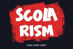 Scolarism - Sans Serif Font Product Image 1