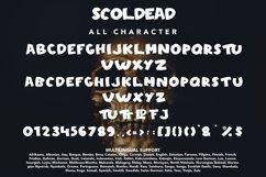 Scoldead - Display Sans Serif Font Product Image 5
