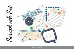 Stars Journaling Set - Scrapbooking Kits PNG Product Image 1