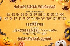 Scream Zombie - Playful Scary Font Product Image 6