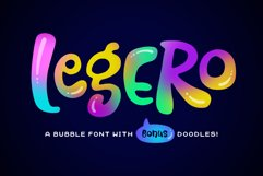 Legero Font and Doodles Product Image 1