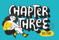 Chapter Three Font Product Image 1