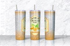 20 oz lemonade tumbler Sublimation designs Product Image 4