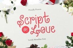 Web Font Script Of Love Font Product Image 1
