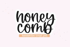 Honeycomb - A Handwritten Script Font Product Image 1
