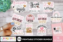 Small business and packaging sticker bundle - rose gold Product Image 1