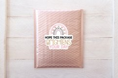 Small business and packaging sticker bundle - rose gold Product Image 2