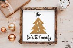 Peace Trees - Decorative Christmas Font Product Image 5