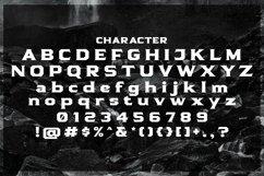 Web Font Senaco Product Image 4