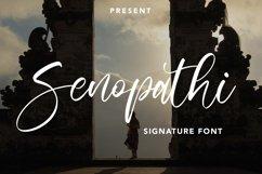Senopathi - Signature Font Product Image 1