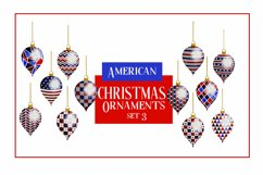 American Christmas Bauble Ornaments BIG BUNDLE 36 PNGS Product Image 4