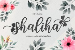 Shaliha Script Product Image 1