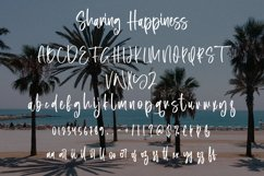 Sharing Happiness - Beauty Script Font Product Image 5