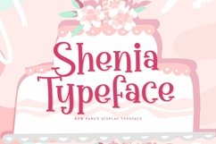 Web Font Shenia Product Image 1