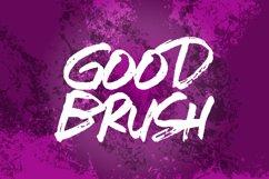 Shigosh Fasto hand brush font Product Image 4