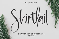 Shirttail - Handwritten Font Product Image 1