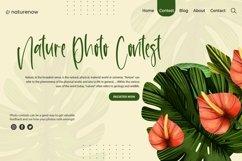 Web Font Shirttail - Handwritten Font Product Image 3