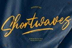 Shortwaves Brush Script Font Product Image 1