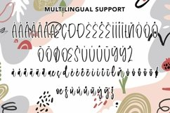 Web Font Shoulder - Fun Script Font Product Image 4