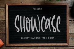 Web Font Showcase - Beauty Handwritten Font Product Image 1