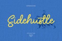 Sidehustle Vintage Script Font Product Image 1