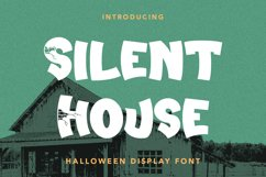Silent House - Halloween Display Font Product Image 1