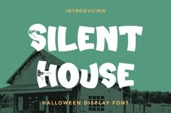 Web Font Silent House - Halloween Display Font Product Image 1