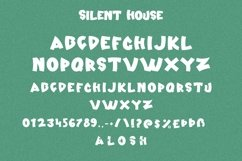 Web Font Silent House - Halloween Display Font Product Image 6