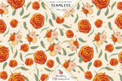 Seamless Rose Pattern SP066 Product Image 2