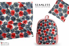 Rose - Floral Seamless Pattern SP001 Product Image 1